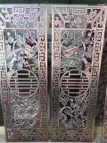 四川门厂高档铝雕门花 浮雕铝艺门花厂家直销