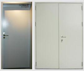 鋼質平開門(機房、電房用)