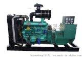 潍坊100KW固定式发电机组 6105柴油机 无刷发电机组