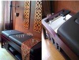 阿育吠陀滴油床美容床带隐藏式洗头功能