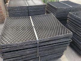 建筑工地脚手架菱形钢笆网片 焊接脚踏网