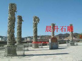 寺庙龙柱广场龙柱大殿龙柱