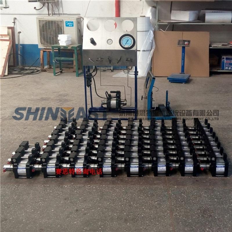 赛思特气体增压泵 氧气氢气增压机器 氮气加压设备