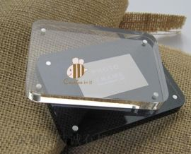 厂家定制水晶透明亚克力相框 圆角6寸有机玻璃创意亚克力相框