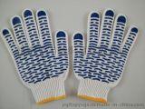 漂白兰波点630克点塑手套(电脑机生产)