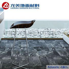 塑膠木地板廠家直銷 家庭辦公室寫字樓簡約地板 防滑塑膠地板