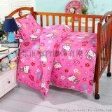 小鸡专供幼儿园全棉儿童被褥卡通纯棉被套宝宝午睡婴儿床六件套