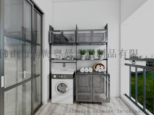 现代阳台柜厂家,佛山现代阳台柜批发,雷诺帝娅现代板式阳台柜私人订制
