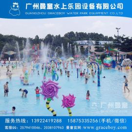 水上樂園兒童戲水小品廠家 噴水小品 卡通噴水 兒童戲水池