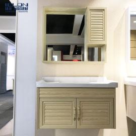 厂家直销太空铝浴室柜收纳柜卫浴柜洗脸盆柜