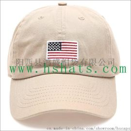 定做HS6片繡花棒球帽