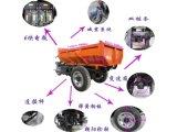 72V150AH载重2吨电动自卸车具有特点