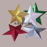 园艺五角星装饰品,园艺装饰品,圣诞园艺装饰品