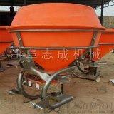 供應後置撒肥機拖拉機配套大型化肥拋撒機
