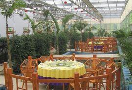 農業觀光採摘園,生態餐廳,農業展示智慧溫室。