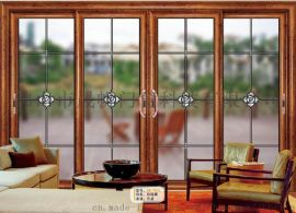 佛山聖米罗兰欧弧推拉门1.0防潮隔热铝合金门窗