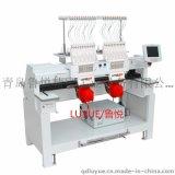 双头12针工业平绣电脑刺绣机