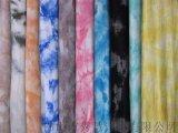 90202 棉坑条拉架 扎染 罗纹 针织布 氨纶