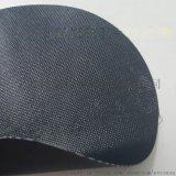 0.5mm阻燃耐高温黑色pvc涂层玻纤布防护罩面料
