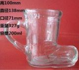 玻璃杯 靴子杯 0.2L靴子杯 带把靴子杯