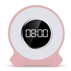 外贸**新款带时钟蓝牙音箱灯