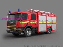 供應消防車用卷簾門,鋁合金車用卷閘門