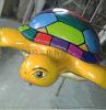 厂家直销专业定玻璃钢乌龟卡通造型 商场美陈 舞台布景道具