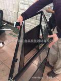 超好用展会折叠展柜 便携钛合金玻璃折叠柜