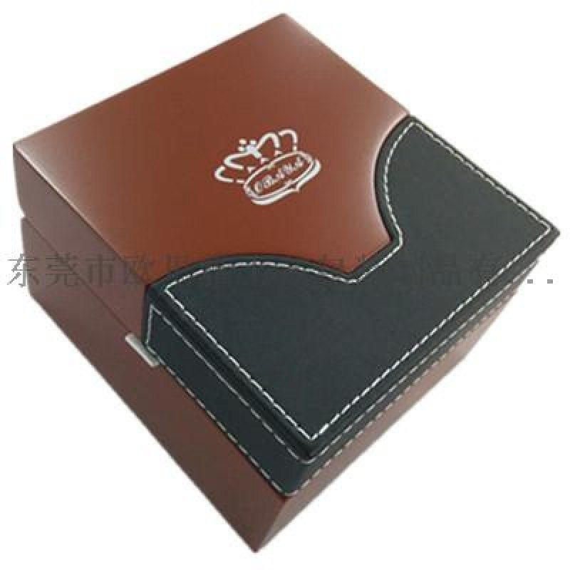 手表盒 PU皮木盒 高档手表包装盒 定制手表盒
