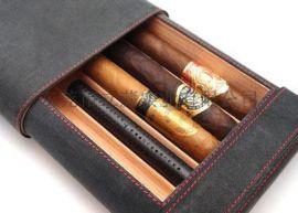 东莞皮盒厂家定做品牌烟皮盒