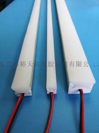 線條燈硅膠燈罩 硅膠擋水條生產廠家