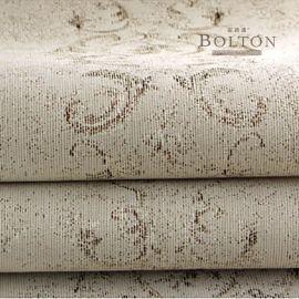 寶路通提花無縫牆布,簡歐現代美式,精美提花透氣棉麻