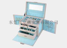 東莞皮盒工廠訂制品牌首飾盒皮盒