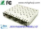 SFP连接器- 1x4焊接式
