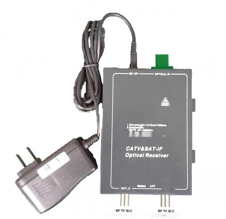 C+ L 波段卫星光接收机, 带AGC