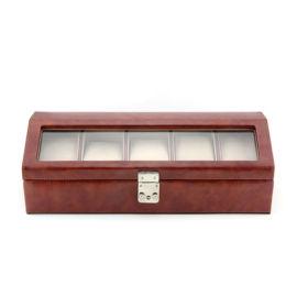 東莞皮盒廠家定做6位12位10位手表盒