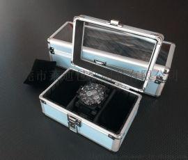 五格表盒收納盒三格手表箱收納箱鋁箱彩色鋁箱