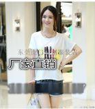 便宜地摊货女式T恤韩版宽松女装短袖低价纯棉T恤
