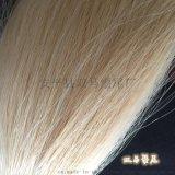 衡水现货琴弓用马尾毛高弹性高强度马毛长短统一马尾毛