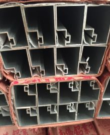 南僑鋁業電泳香檳色B型管建築鋁型材