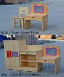 厂家直销幼儿园儿童实木家具组合柜
