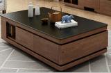 江蘇簡約現代歐式茶幾 火燒石桌面創意客廳家具