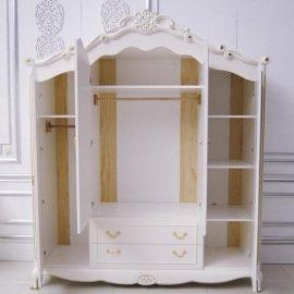 板式組合衣櫃 定制歐式田園風格現代簡約衣櫃