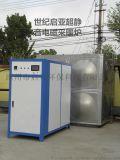 世纪启亚品牌电磁暖炉质量检测电磁采暖炉与电阻比较