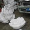 厂家直销专业定制 泡沫雕塑牡丹花 婚庆舞台道具摆放 量大从优