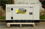 12千瓦水冷便携式静音柴油发电机