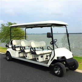 热销德州8座电动高尔夫球车,度假村观光代步车