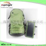 供应太阳能背包 远足旅行阳能板供电双肩包 能充电的户外包