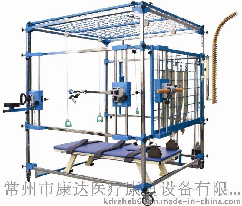 康复器材 康复设备 医疗设备 多功能训练器(八件组合*带床)
