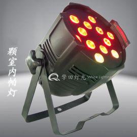 擎田灯光 QT-PF22 12颗四合一防水帕灯 帕灯扁灯塑帕灯